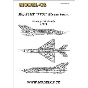 """Mig-21MF """"7701"""""""