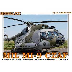 1/72 Mil Mi-9 Czech air Force