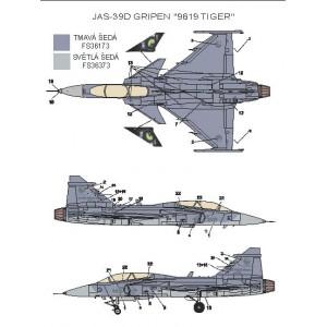 """JAS-39D Gripen """"9819"""""""