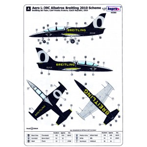 Aero L-39C Albatros - Breitling 2010