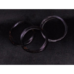 Měděný drát 0,3mm - černý