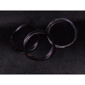 Měděný drát 0,2mm - černý