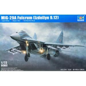 Mig-29A Fulcrum 9.12 1/72