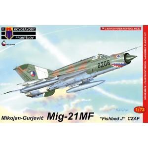 1/72 KP Mig-21MF CzAF