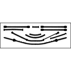 Výztuhy trupu W3A Sokol - 1/72