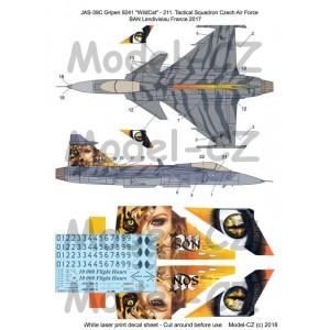 """1/72 JAS-39C Gripen """"9241"""" Tigermeet 2017"""