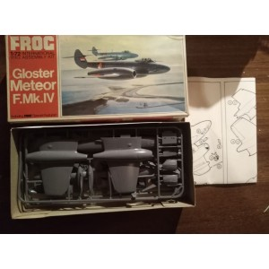 FROG  1/72 - Gloster Meteor F.Mk.IV