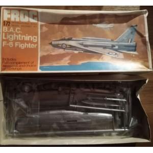 FROG  1/72 - B.A.C. Lightning F-6 Fighter