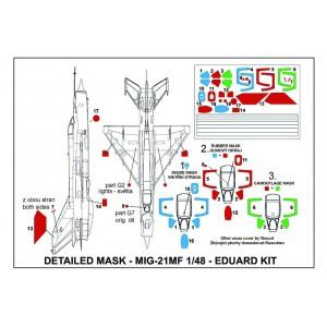 Masky Mig-21MF 1/48 Eduard kit