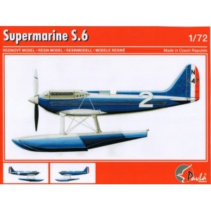 Supermarine S.6 + transport carriage